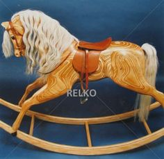 I Want to Buy an Antique Rocking Horse.