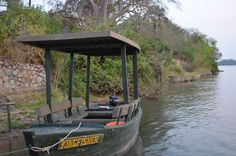 King Fisher boat #WildernessSafaris