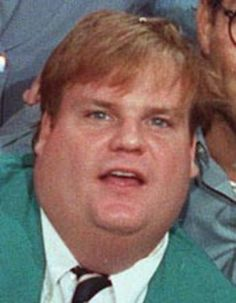 Chris Farley (2/15/64 - 12/18/97) American comedian and actor. Farley was best known for his loud energetic comedy style and physical comedy, and was a member of Chicago's Second City Theatre.