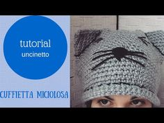 tutorial cuffietta miciolosa ad uncinetto - YouTube