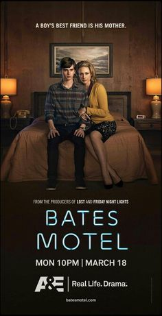 Bates Motel - Both Freddie Highmore and Vera Farmiga give Emmy-worthy turns as a too-close duo that actually manages to humanize the monster we all know as Norman Bates...