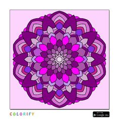 18 Best Coloring For Adults Through Colorfy App Images Adult