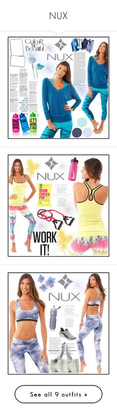 """""""NUX"""" by gaby-mil ❤ liked on Polyvore featuring Victoria's Secret PINK, sport, nux, nuxusa, Tank, Victoria's Secret, Chanel, Puma, bra and courage"""