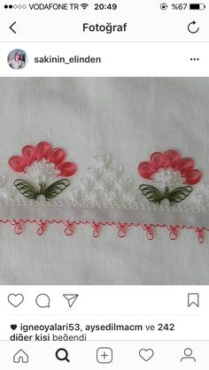 Tatting, Embroidery, Napkins, Lace, Amigurumi, Atelier, Needlework, Towels, Bobbin Lace