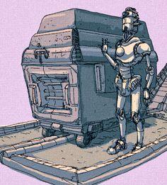 Trazos de Más: Robot Recolector. / Collector Robot