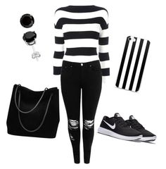 """""""best me❤😘"""" by j-bhutada ❤ liked on Polyvore featuring Boutique Moschino, Boohoo, NIKE and Gucci"""