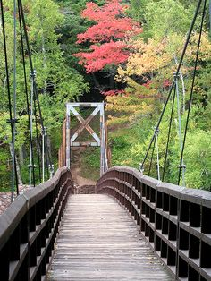 bridge over black river, black river byway, upper peninsula