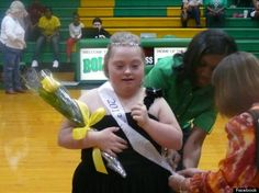 Kara Marcum, High School Girl With Down Syndrome, Crowned Homecoming Queen.  Students at a Tennessee high school elected her to be their homecoming queen.  Last week, Kara Marcum, 19, beat 3 other candidates to win the title of homecoming queen at Bolivar Central High School. According to Fox News, the student body voted to select a winner.  Galloway attributes Marcum's win to her positive outlook and charming personality, which she said makes her one of the most popular students at the…