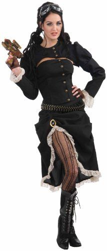 Woman's Steampunk Renegade Costume - [ http://steampunk.storopa.com/womans-steampunk-renegade-costume/ ]  #Costume, #Renegade, #Steampunk, #Womans