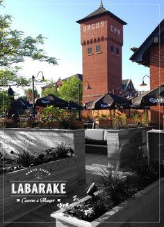 Labarake Caserne à Manger, Contemporaine/Moderne Restaurant  Photo