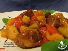 Свинина в кисло-сладком соусе ингредиенты