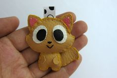Cute Persian Cat Keychain  Momo by araleling on Etsy, $12.00