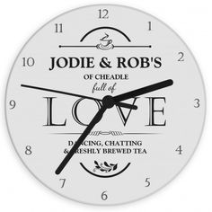 Full of Love Clock | Clocks | Exclusively Personal