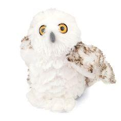 If playtime usually includes snow shoes & binoculars then our Stuffed Snowy Owl Mini Cuddlekin by Wild Republic needs to be included! Polar Animals, Owl Pet, International Festival, Baby List, Snowy Owl, Bandana Print, Stuffed Toy, Cute Bears, Bald Eagle