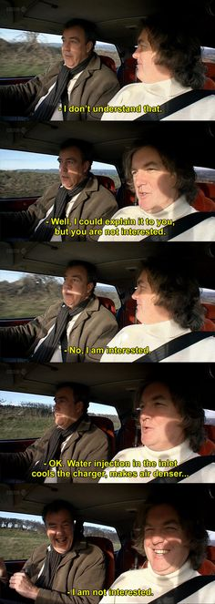 Top gear is the best they always seem to have so much fun