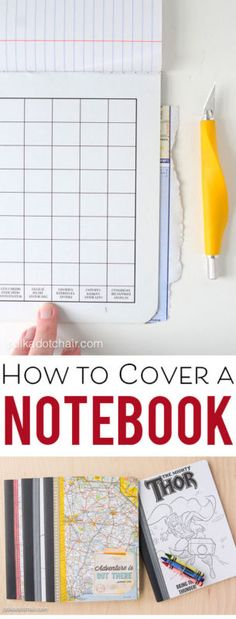How to cover a simple notebook to make a fabulous gift! | eBay