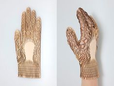 Concealed Layers Of Product Life by Renee Verhoeven. Renee Verhoeven's graduation project at ArtEZ explores the relationship between function and materialization, anatomy and mobility, in a series of gloves.