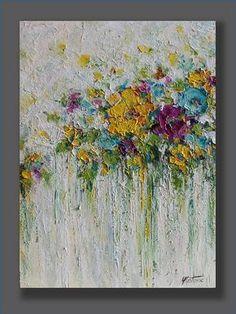 Flores de acrílico p