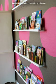 Toddler Bookshelf Wall