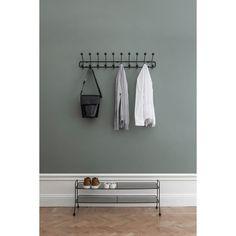 Bill horizontal hängare L, grå – Maze – Köp online på Modern Storage Furniture, Storage Sets, Wall Mounted Coat Rack, Rack Design, Steel Frame, Maze, Wardrobe Rack, Minimalist, Interior