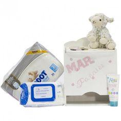 Cesta Bebé Ups Rosa, completísima #canastilla para bebés, Las mejores #cesta para #bebe están Aquí.