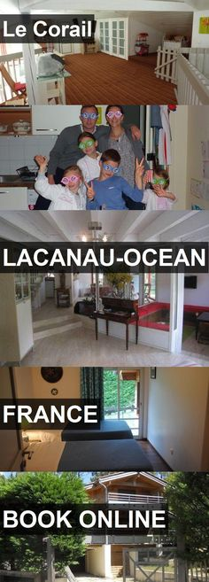 Hotel Le Corail in Lacanau-Ocean, France. For more information, photos, reviews and best prices please follow the link. #France #Lacanau-Ocean #travel #vacation #hotel