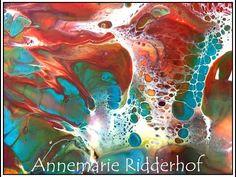 Fluid swipe Painting 'Metallic-Hah!!' Free Your Mind Art - YouTube