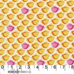 Puffy Bird Orange ~ Heaven and Helsinki @ Sew,Mama,Sew!