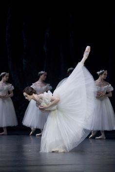 Aurelie Dupont. These tutus are so beautiful and flowy.