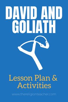 In this lesson plan you will use activities to help your students summarize the story of David and Goliath in the Bible and make connections between the meaning of the story and their lives. David And Goliath Summary, David And Goliath Story, Story Of David, Bullying Lessons, Catholic Religious Education, Bible Object Lessons, Kids Ministry, Bible Activities, Sunday School Lessons