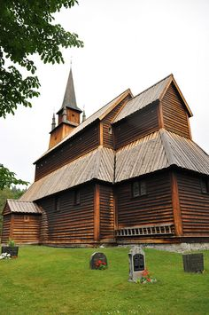 Kaupanger Stavechurch from 1140 by 74Bella, via Flickr