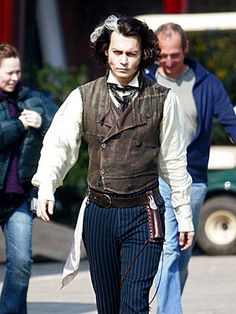 A HAIR RAISER  A few weeks following a health scare with 4-year-old daughter Lily-Rose, Johnny Depp returns to the London set of the musical thriller Sweeney Todd on Tuesday. The chameleon-like actor plays the title character – a demon barber of Fleet Street.  Credit: Malibu Media  Published: Thursday Mar 29, 2007 | 05:15 PM EDT