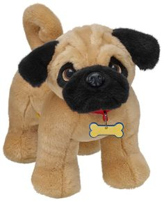 Build-A-Bear workshop... Pug :D So cute!