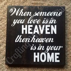 Approximately 12x12.  When someone you love is in heaven then heaven is in your home.