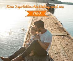 Einen Superhelden ohne Umhang nennt man PAPA 💕 https://www.bodyzone.ch/