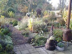 De tuin van Joukje Smeding in het najaar. Bekijk deze najaarstuin en vele andere tuinen in het najaar.