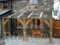 Image result for open porch with glass roof