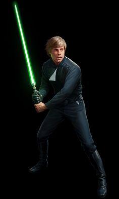 SW:Destiny - Luke Skywalker by wraithdt.deviantart.com on @DeviantArt