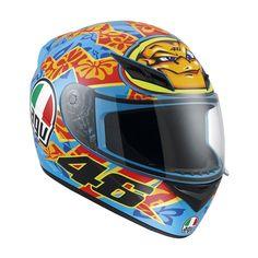 Casco Agv K3 Replica Valentino Rossi. http://flandro.com/casco-integral/1556-casco-agv-k3-replica-valentino-rossi.html
