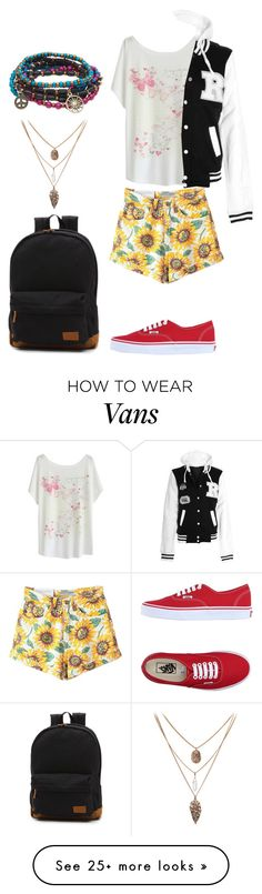 """""""Untitled #428"""" by samantha1-a on Polyvore featuring Vans and Aéropostale"""