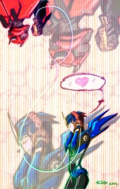 Arcee and Cliffjumper - I casually ship them, but sweet Primus, this is adorable
