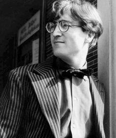 John Lennon He looks like James Potter omg