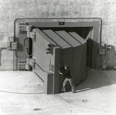 Strange Military Items - Nuclear Proof Blast Door!