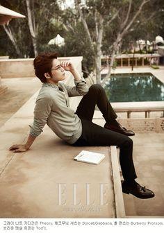 Jaejoong for Elle Korea November 2012 [My Journey Week]