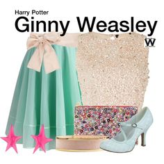 Inspired by Bonnie Wright as Ginny Weasley in the Harry Potter film franchise