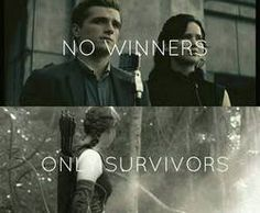 Considering this is from catching fire, I wouldn't say so lol! But that's just being picky though - Second entry: Oh god thought it said one survivor XD Need to get my eyes checked!