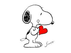 Snoopy, will you be my Valentine? I won't call for iodine if you give me a kiss on the cheek!