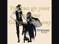 Fleetwood mac -  Go your own way - Lyrics