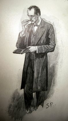 Sherlock Holmes - Sidney Paget Book Illustration 6171 by Brechtbug, via Flickr