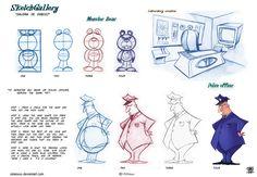 how to draw cartoon step by step by celaoxxx.deviantart.com on @deviantART